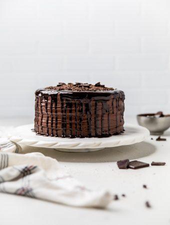The Best Dairy Free Chocolate Cake (Vegan)