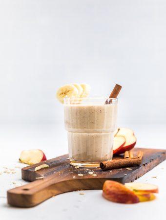 Dairy Free Peanut Butter Banana Smoothie (Vegan)