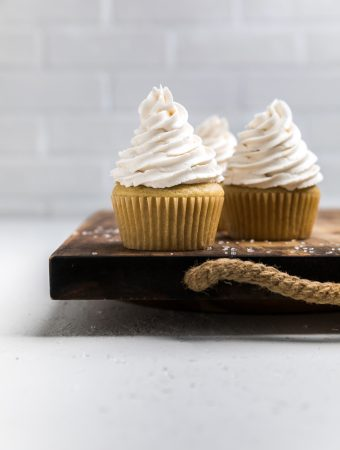 Dairy Free Vanilla Cupcakes (Vegan)