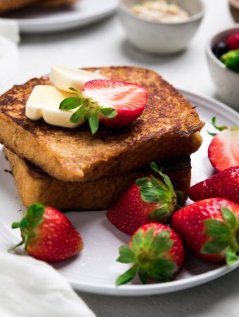 Dairy Free French Toast (Vegan)