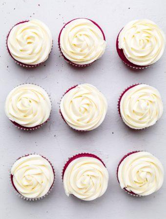 Dye Free Dairy Free Red Velvet Cupcakes (Vegan)