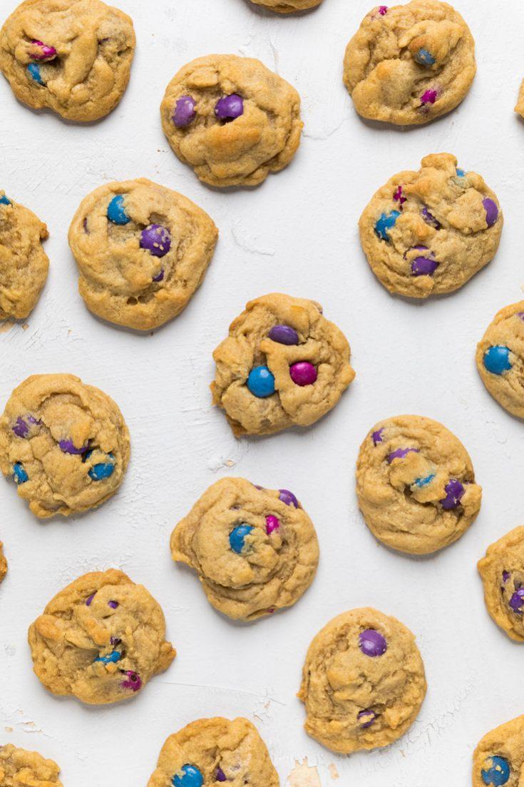 """Vegan """"M&M"""" Cookies"""