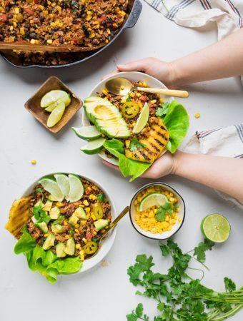 Chorizo Vegan Burrito Bowl