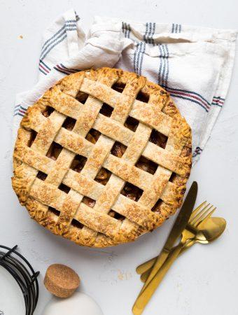 Dairy Free Apple Pie (Vegan)