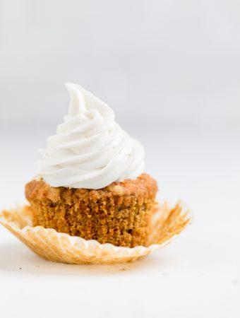 Dairy Free Carrot Cake Cupcakes (Vegan)