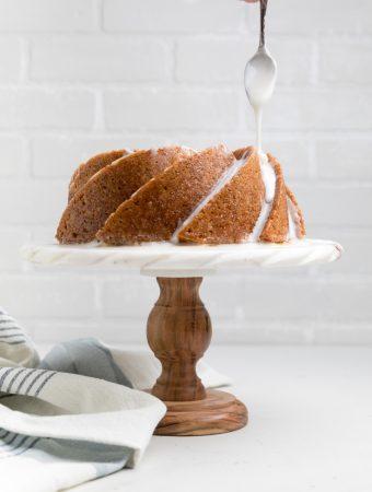 Dairy Free Lemon Pound Cake (Vegan)