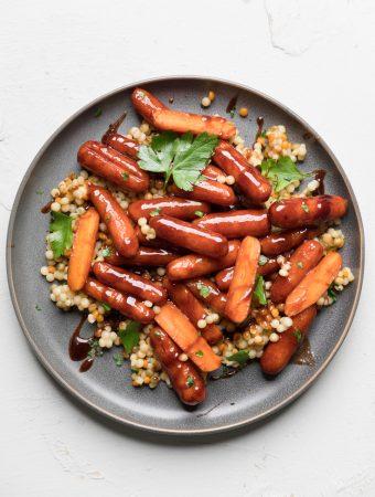 Vegan Glazed Carrots