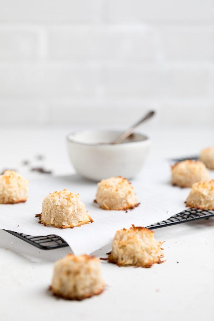 Vegan Coconut Macaroons