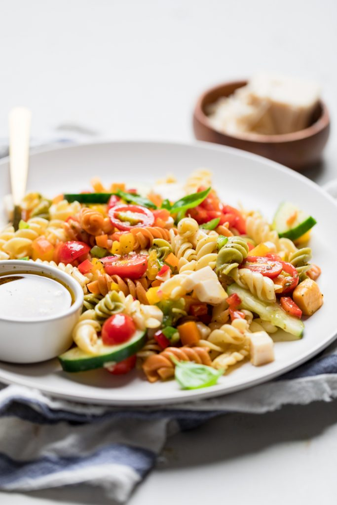 Italian Vegan Pasta Salad Make It Dairy Free