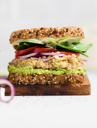 Chickpea Vegan Tuna Salad