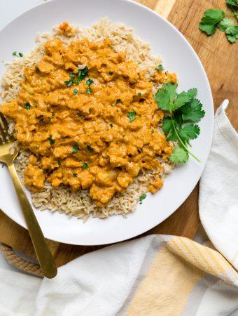 Vegan Cauliflower Coconut Curry
