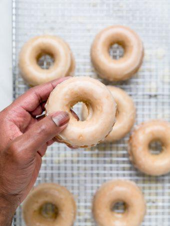 Glazed Vegan Donuts