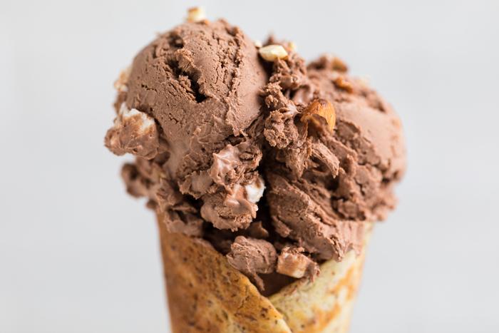 Vegan Rocky Road Ice Cream No Churn Make It Dairy Free