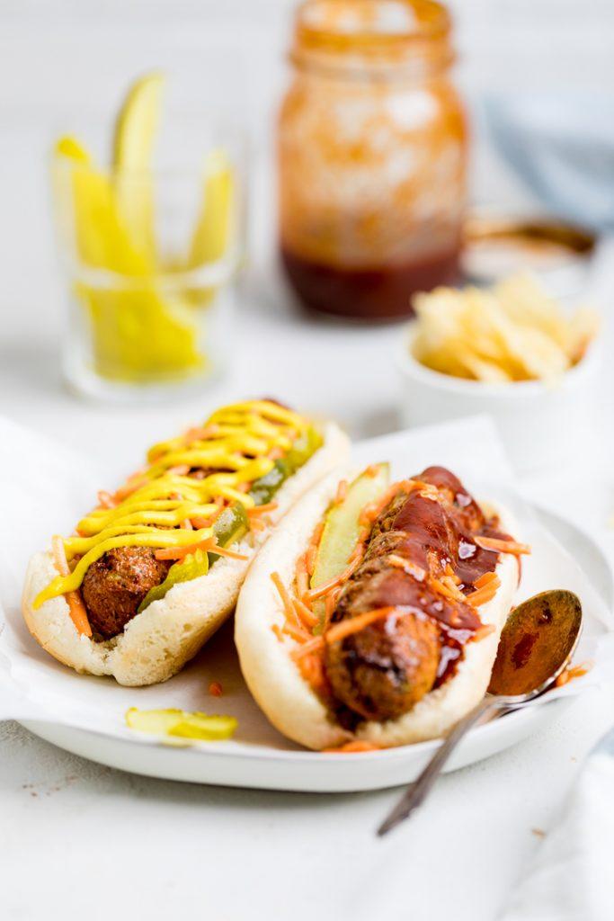 Homemade Vegan Hot Dogs Recipe Make It Dairy Free