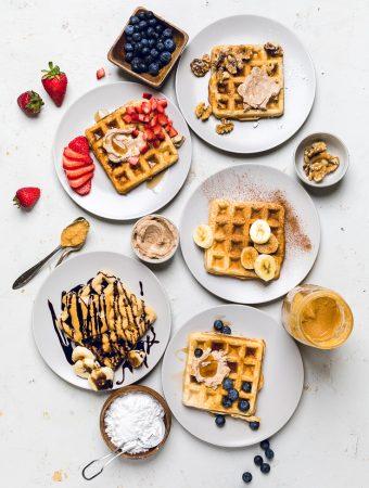 The Best Vegan Waffles
