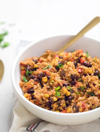 Vegan Instant Pot Tex-Mex Rice