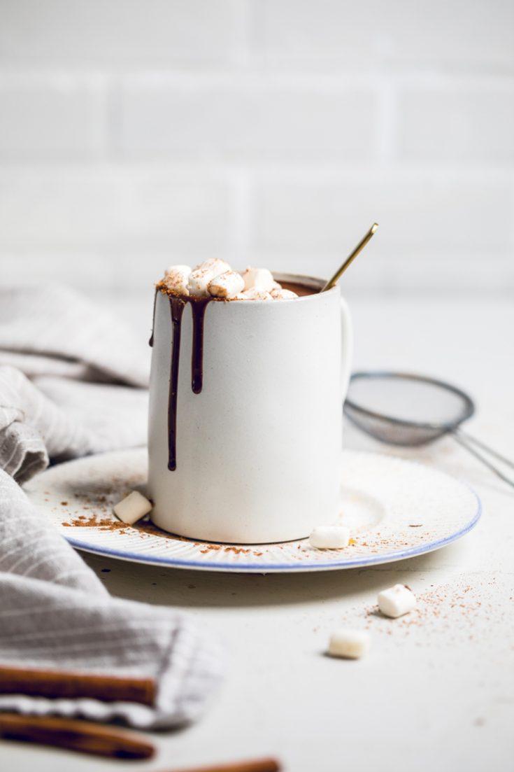 Vegan Coconut Milk Hot Chocolate