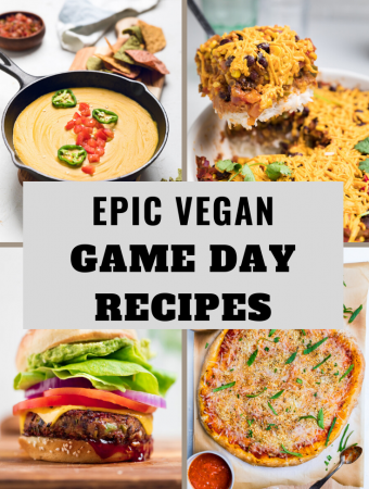 Vegan Game Day Foods