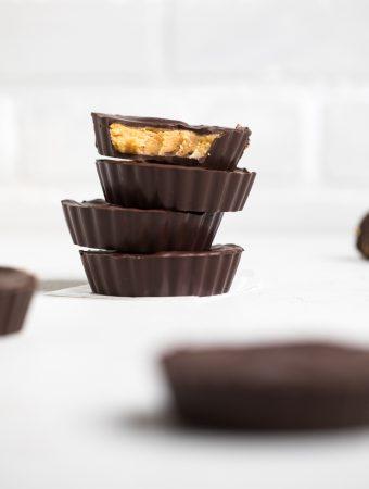 Vegan Peanut Butter Cups (Vegan Reece's)