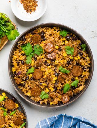 Vegan Chorizo Fried Rice