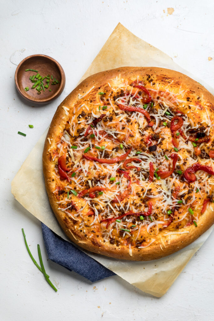 Vegan Focaccia Pizza Make It Dairy Free